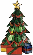 Meyda Tiffany 12961 Tiffany Large Christmas Tree Accent Lamp
