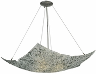 Meyda Tiffany 131351 Moonscape 24 Inch Wide Square Inverted Pendant Light Fixture