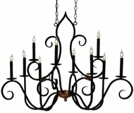 Meyda Tiffany 132000 Clifton 10 Lamp 43 Inch Diameter Classic Candle Chandelier