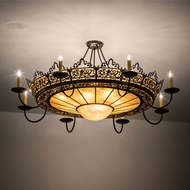Meyda Tiffany 132183 Stanley Traditional Timeless Bronze Ceiling Lighting
