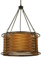 Meyda Tiffany 132694 Maille 24 Inch Diameter Chain Drum Pendant Light Fixture - 4 Lamps