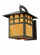 Meyda Tiffany 133060 Seneca Window Pane 17 Inch Diameter Craftsman Wall Lighting - Mica