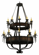 Meyda Tiffany 133745 Costello 72 Inch Tall 20 Candle Large Chandelier Light Fixture