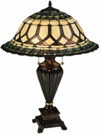 Meyda Tiffany 134536 Aello Tiffany Table Top Lamp