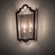 Meyda Tiffany 135020 French Market Traditional Cafe-Noir Lighting Sconce
