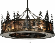 Meyda Tiffany 135769 Tall Pines Country 45 Wide Chandelier Light