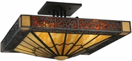 Meyda Tiffany 136081 Zuvan Tiffany Custom Wall Lamp