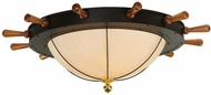 Meyda Tiffany 136204 Nautical Large 74 Inch Diameter Overhead Lighting - Oil Rubbed Bronze