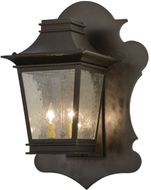 Meyda Tiffany 137505 Fanucchi With Amoeba Backplate Wall Lamp