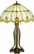 Meyda Tiffany 137951 Nouveau Dome Tiffany Table Lamp
