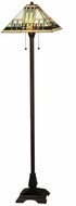 Meyda Tiffany 138129 Zaragoza Mission Tiffany 62 Inch Tall Floor Lamp Light