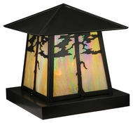 Meyda Tiffany 139490 Stillwater Tamarack Craftsman 16  Wide Outdoor Pier Mount
