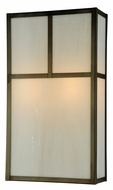 Meyda Tiffany 140767 Hyde Park Craftsman Style 18 Inch Tall Sconce Lighting