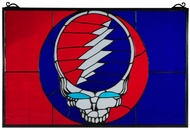 Meyda Tiffany 141459 Grateful Dead 28 Inch Wide Art Glass Wall D�cor