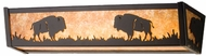 Meyda Tiffany 14232 Buffalo Country Sconce Lighting