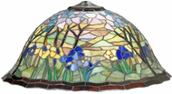 Meyda Tiffany 142343 Magnolia Tiffany Art Glass 61 Inch Tall Floor Lamp Light