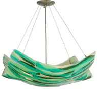 Meyda Tiffany 142473 La Spiaggia 28 Inch Diameter Modern Pendant Lighting