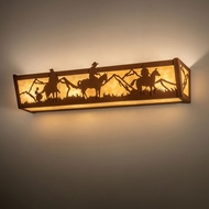 Meyda Tiffany 14267 Western Country Earth Lamp Sconce