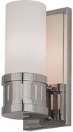 Meyda Tiffany 145702 Cilindro Chisolm Passage Modern Polished Nickel Wall Light Fixture