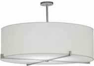 Meyda Tiffany 146192 Cilindro Structure Brushed Nickel Fluorescent Home Ceiling Lighting