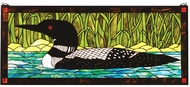 Meyda Tiffany 14625 Loon Tiffany Stained Glass Window