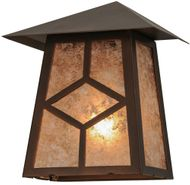 Meyda Tiffany 147010 Diamond Mission Wall Sconce Light