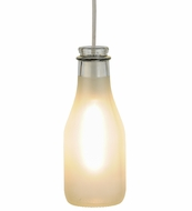 Meyda Tiffany 147520 5  Wide Milk Bottle Vintage Mini Pendant Lighting