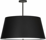 Meyda Tiffany 153355 Cilindro Campbell Oil Rubbed Bronze Pendant Hanging Light