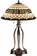Meyda Tiffany 15409 Tiffany Roman Tiffany Lighting Table Lamp