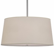 Meyda Tiffany 154147 Cilindro Tapered Brushed Nickel Pendant Lamp