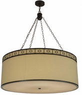 Meyda Tiffany 154651 Cilindro Circle X Timeless Bronze Pendant Lighting