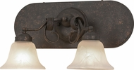 Meyda Tiffany 155225 Trea Gilded Tobacco Wall Sconce Lighting