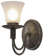 Meyda Tiffany 155226 Bell Ash Wall Light Fixture