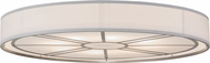 Meyda Tiffany 155395 Cilindro Milwaukee Nickel Overhead Lighting Fixture