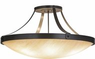 Meyda Tiffany 155899 Urban Modern Timeless Bronze Ceiling Light