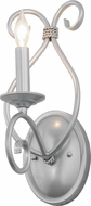 Meyda Tiffany 156754 Olivia Pewter Lamp Sconce