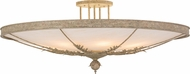 Meyda Tiffany 157553 Hoja Pate Flush Mount Ceiling Light Fixture