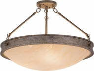 Meyda Tiffany 158204 Dionne Corinth / Carmel Onyx Acrylic Sb Out Ceiling Lighting