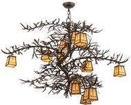 Meyda Tiffany 158680 Pine Branch Valley View Tyler Bronze Halogen Home Ceiling Lighting
