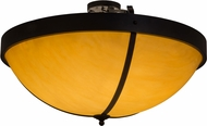 Meyda Tiffany 159010 Alysiales Luxe Black Ceiling Light