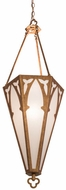 Meyda Tiffany 159509 Church Contemporary Autumn Leaf / Etruscan Acrylic Foyer Lighting Fixture