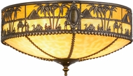 Meyda Tiffany 160257 Camel Beige Ha Ceiling Lighting