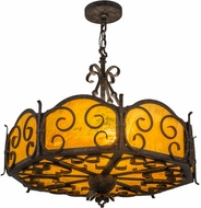 Meyda Tiffany 160260 Radha Coffee Bean Pendant Lighting Fixture