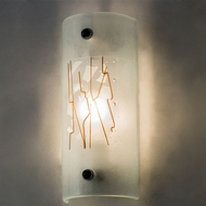 Meyda Tiffany 160383 Twigs Contemporary Fluorescent Wall Light Sconce