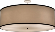 Meyda Tiffany 160458 Cilindro Beige Ceiling Light Fixture