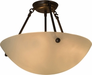 Meyda Tiffany 160628 Cypola Flush Mount Lighting