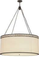 Meyda Tiffany 161031 Cilindro Circle X Timeless Bronze Hanging Light Fixture