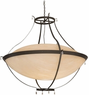 Meyda Tiffany 161054 Modesto Timeless Bronze LED Ceiling Light Fixture