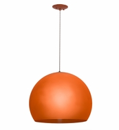 Meyda Tiffany 162252 Bola Play Modern Orange Hanging Pendant Light