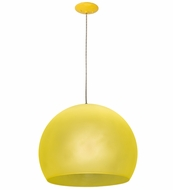 Meyda Tiffany 162257 Bola Play Modern Yellow Hanging Light Fixture